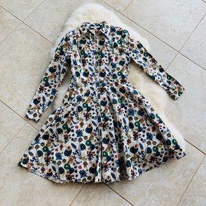 ANTONIO MELANI / Festive fall dress